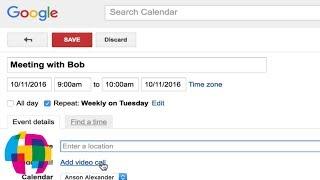 Google Calendar Tutorial 2016 - Quick Start