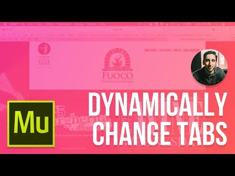 Adobe Muse 2017 Tutorial | Dynamically Changing Tab Titles
