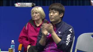 Video TOTAL BWF Thomas & Uber Cup Finals 2016 | Badminton SF/S1-Thomas Cup – KOR vs INA (Court 2) MP3, 3GP, MP4, WEBM, AVI, FLV Agustus 2018