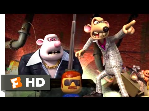 Flushed Away (2006 - Rat-Mobile Chase Scene (7/10) | Movieclips