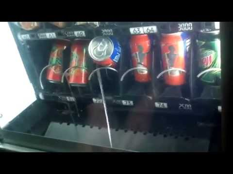 How to steal soda from a vending machine