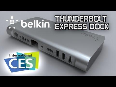 GIGA AUF DER CES - Belkin Thunderbolt Express Box