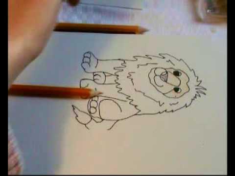 Malvorlage Löwe für Kinder