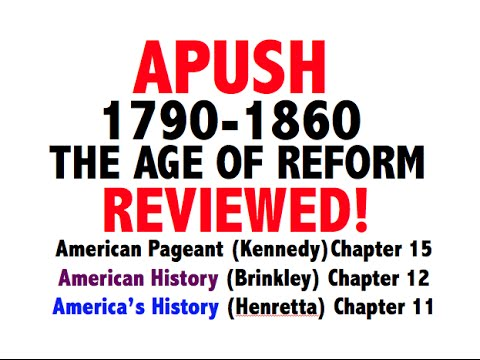 apush chapter 15 notes Chapter 15 the ferment of reform and culture 1790-1860 reviving religion thomas paine promoted the doctrines of deismdeists relied on science rather than the bible and they denied the divinity of christ.