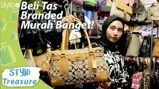 Video Belanja Tas Branded Murah di Pasar Baru Jakarta | Pusat Tas Wanita Bermerek Preloved / Bekas /Second MP3, 3GP, MP4, WEBM, AVI, FLV Mei 2019