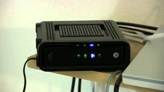 Motorola SB6121 DOCSIS Reviews YouTube video