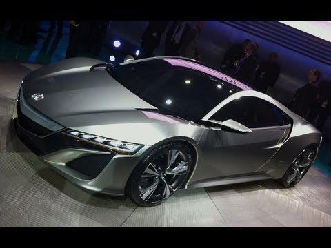 Acura  Acura NSX Concept: 2012 Detroit