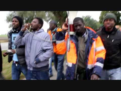 """Беженцы - немцам: """" Валите из нашей Германии!"""""""