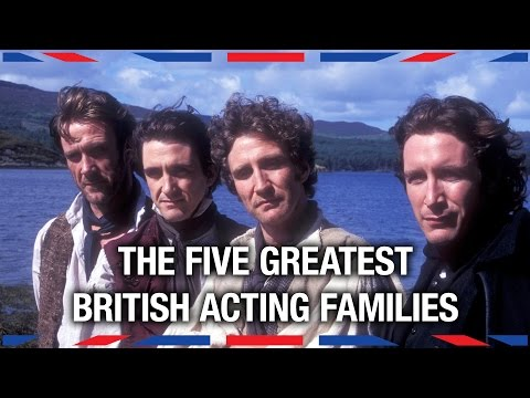 Greatest - America has the Barrymores, the Coppolas, and the Fondas, but who are the British acting families of note? Siobhan Thompson rummages through the UK's family trees in search of the greatest...