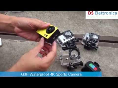 Pro Cam 4K SPORT WIFI ACTION CAMERA ULTRA HD 16MPX VIDEOCAMERA SUBACQUEA ITALIA