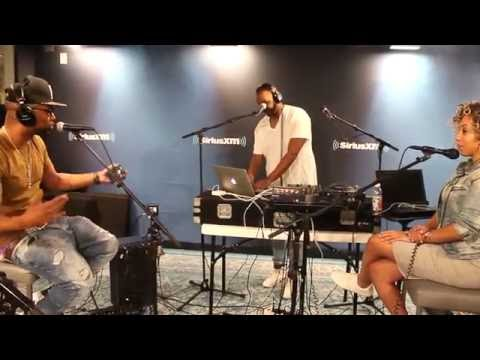 Drumma Boy 'interviews' #SiriusXm Dj Lazy k, Lord Sear,  Suss One,  Superstar Jay & Gray Rizzy