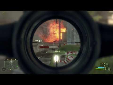 Crysis Harbor Gameplay (HD) Very High 4xAA