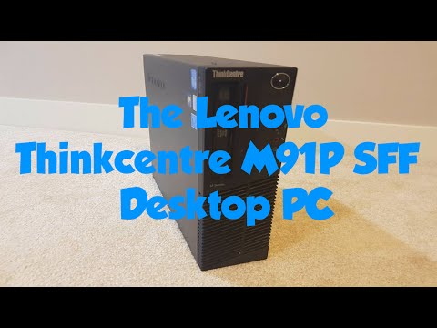The Lenovo Thinkcentre M91P SFF Desktop PC