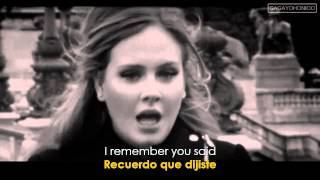 Adele ~ Someone Like You (Lyrics Sub. Spanish/Español) [HD] Official Video ✔ - YouTube