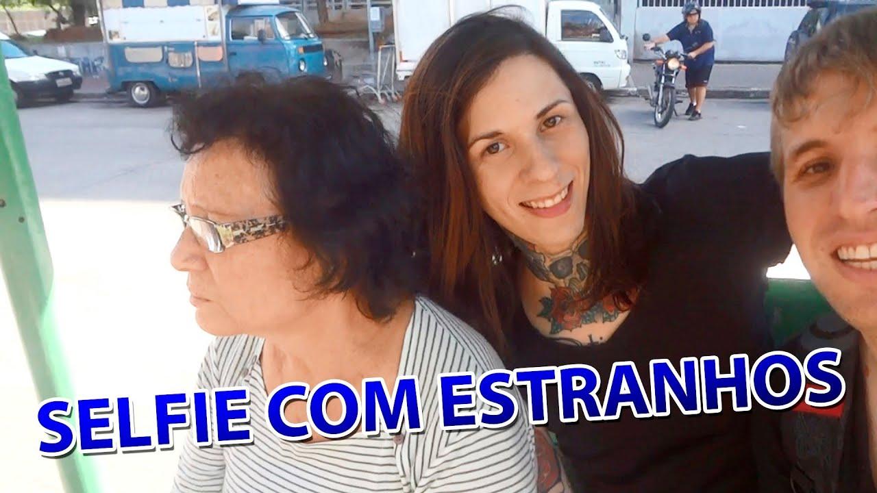 Pegadinha: SELFIE COM ESTRANHOS #guilhermerocker
