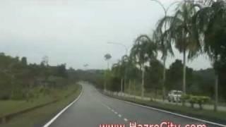 Bintulu Malaysia  city photos gallery : Going to Bintulu Airport, Sawarak State, Malaysia
