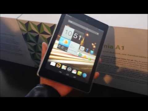 acer iconia a1 hands on