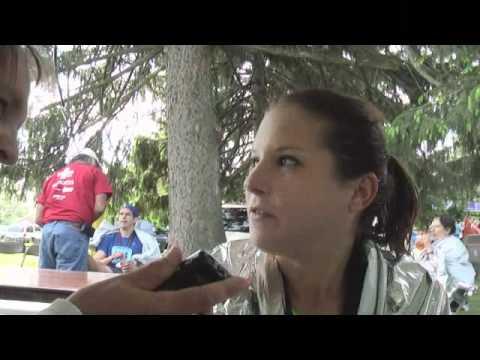Nicole Clement wins Kalamazoo Marathon.
