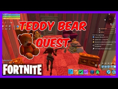 FORTNITE Guide - Daily Destroy (Teddy Bears)