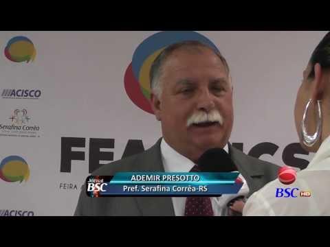 JornalBSC: Serafina Corrêa já vive o clima da FEAGRICS 2013