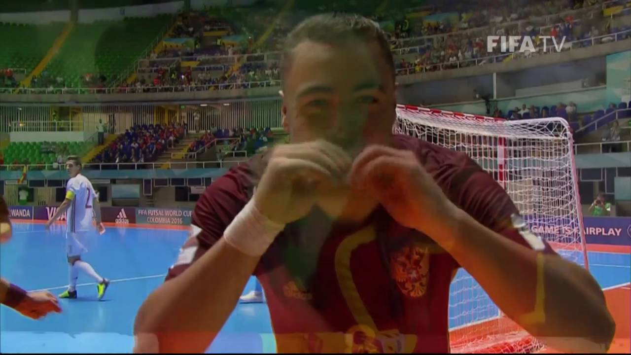 Match 46: Russia v Spain – FIFA Futsal World Cup 2016