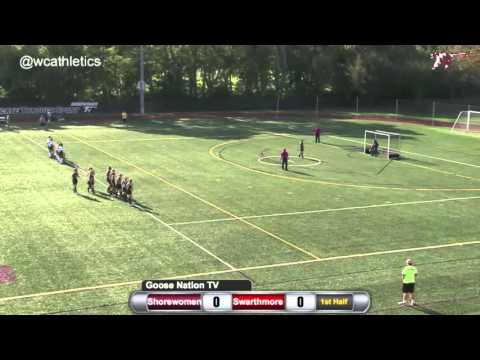 Washington College Field Hockey - Goals v. Swarthmore