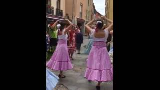 Thuir France  City new picture : Sevilliana dance group in Thuir, France