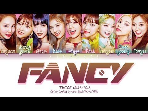 "TWICE (트와이스) ""FANCY"" (Color Coded Lyrics Eng/Rom/Han/가사)"