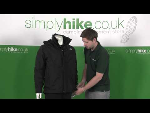 The North Face Mens Evolution Triclimate Jacket - www.simplyhike.co.uk