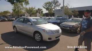 Autoline Preowned 2011 Toyota Camry Walk Around Review Test Drive Used For Sale Jacksonville