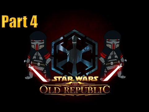 Star Wars The Old Republic Sith Warrior Gameplay Walkthrough Part 4 – Escaping Korriban