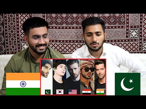 Pakistani Reaction on Top 10 Handsome Men In The World (2020)