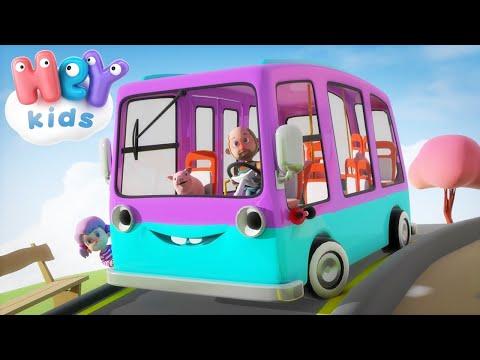 Le Ruote del Bus - Canzoni per bambini con macchine