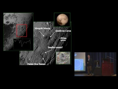 """20th Kaczmarczik Lecture: """"New Horizons & the Exploration of the Pluto System"""""""