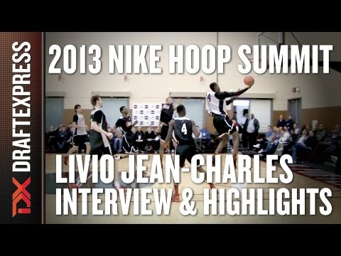 Livio Jean-Charles - Interview & Practice Highlights - 2013 Nike Hoop Summit