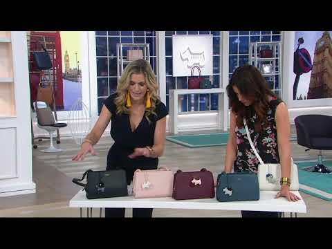 RADLEY London Liverpool Street Leather Medium Crossbody On QVC