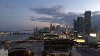 Miami dusk time-lapse iPhone 6 best