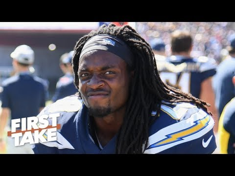 Video: Melvin Gordon isn't an elite RB and shouldn't risk sitting out - Will Cain | First Take
