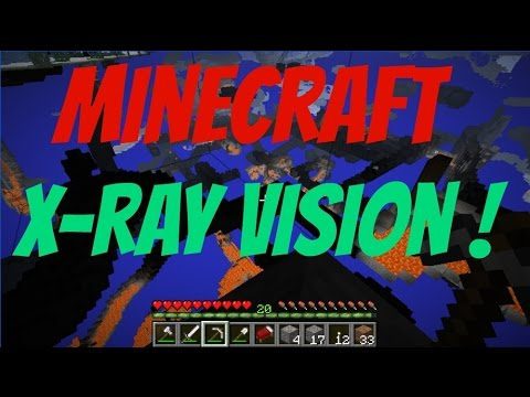 how to stop x ray minecraft