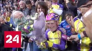 """Категория """"100+"""": француз проехал на велосипеде 22,528 километра за час"""
