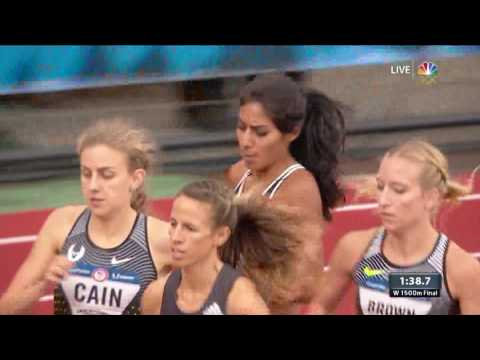 Olympic Track And Field Trials | Photo Finish In Women's 1,500-Meter
