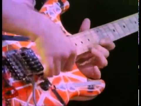 Eddie Van Halen   Solo Eruption   Live Without A Net