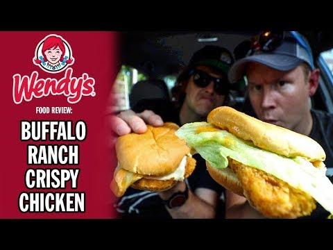 Wendy's $1 Buffalo Ranch Crispy Chicken Sandwich Food Review | Season 6, Episode 74