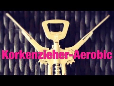 Fitness für Weinliebhaber – Korkenzieher-Aerobic