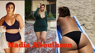 Nadia Aboulhosn is a Plus Size Model.top model and beautiful photo video 2016 bubble butt big butt, tess holliday, plus-size ...