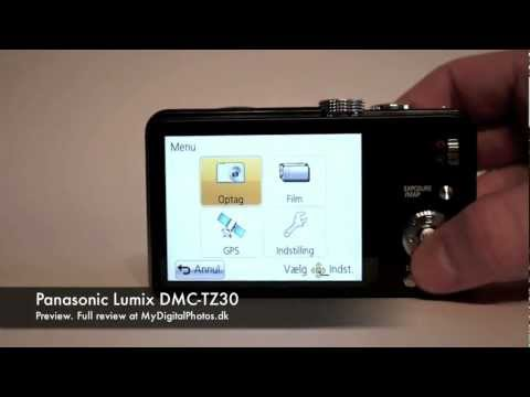 Panasonic Lumix DMC-TZ30 Preview