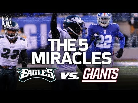 Video: The Eagles 5 Miracle Wins vs. the Giants | NFL Highlights