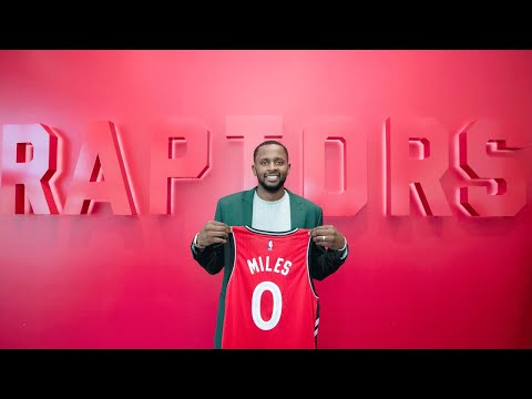 Video: Raptors hope to increase three-point percentage by acquiring Miles