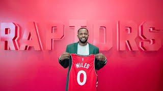 Eric Smith and Michael Grange discuss what C.J. Miles adds to the Toronto Raptors and the plan for Jonas Valanciunas.