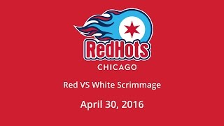 Red vs White Home Teams - April 30, 2016